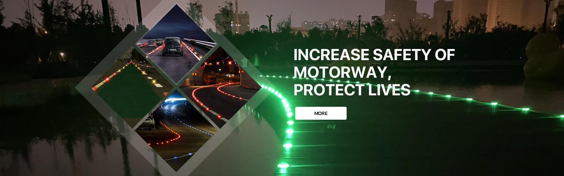 motorway solar road stud manufacturer