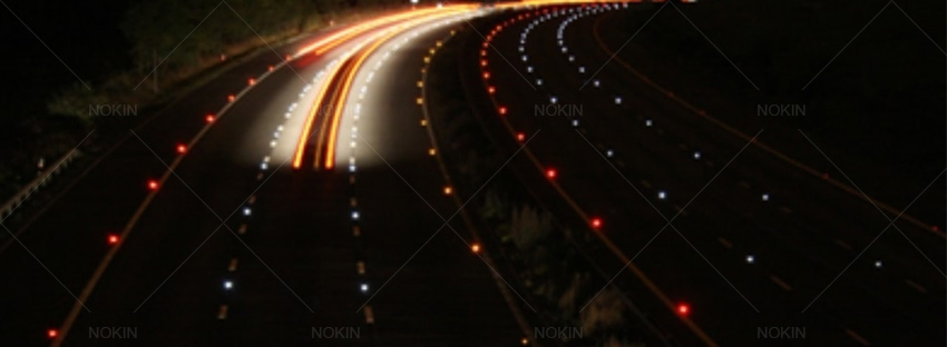 Solar Road Studs For Motorway Help To Improve Road Safety