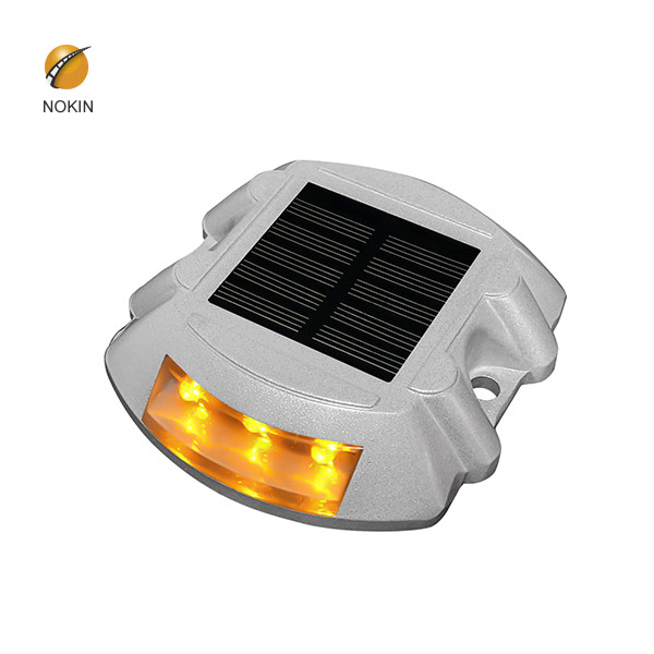 Horseshoe Aluminum Solar Panel Amber Studs on Motorway NK-RS-A1